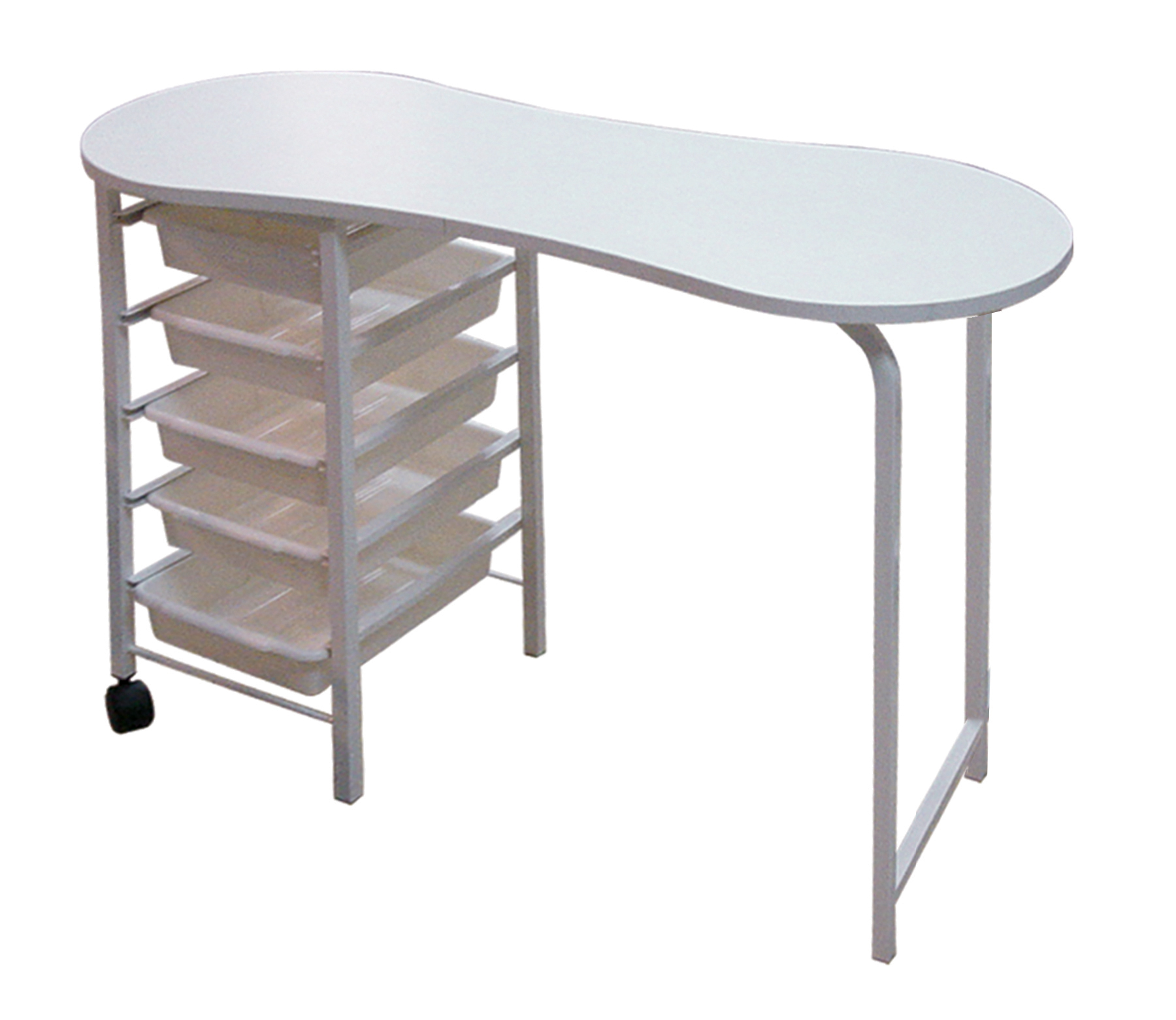 Manicure table professional make up salon for Long manicure table