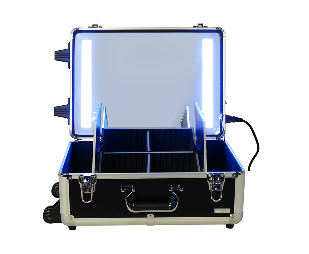 Led Light Working Beauty Case Professional Make Up